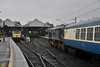 A special request went in for 216 to haul the diesel legs of the RPSI Santa trains over the weekend of 15th and 16th of December. Loco control obliged and we see 216 arriving into Connolly with the 0855 empty carriages from Inchicore. Sat 15.12.18