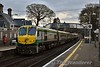 The 0700 Cork - Heuston departs Thurles with 222 pushing. Tues 06.02.18