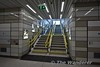 Two flights of stairs are available. The north facing ones are best to use if walking into the city centre. Tues 02.01.18