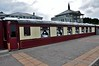 The Pullman Restaurant at Glenlo Abbey in Co. Galway. The carriages arrived here in 1997 from Elsenham, Essex England. Pullman LNER 208 Leona Pullman Parlour First.  Sat 02.06.18