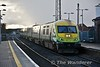 4006 at Portlaoise with the 1425 Cork - Heuston. Wed 07.08.17