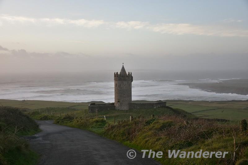 Doonagore Castle near Doolin, Co. Clare. Sat 03.11.18