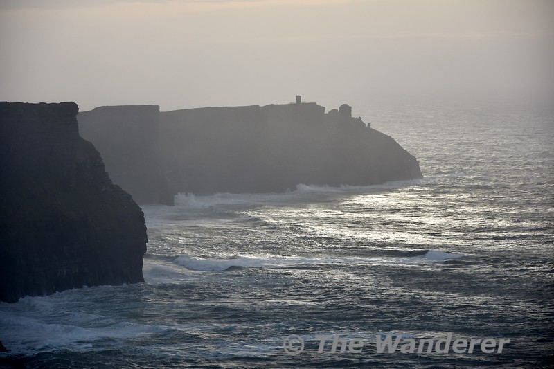 The Cliffs of Moher near Liscannor, Co. Clare. Sat 03.11.18