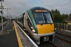 22039 stands at Hazelhatch while working the 0720 Portlaoise - Heuston. Thurs 04.10.18