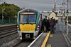 Passengers boarding the 0815 to Grand Canal Dock at Hazelhatch. Thurs 04.10.18