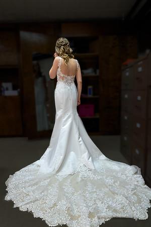 Nicole and Doug Wedding, dress