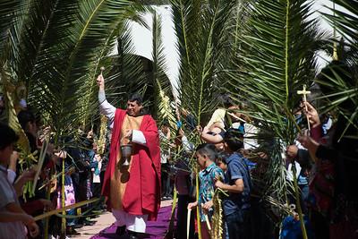 03-25-18 Palm Sunday 12:00  Spanish Mass