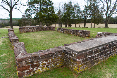 Homestead at Chinn Ridge, Manassas National Battlefield.