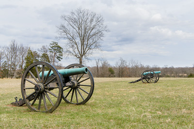 Scene at Chinn Ridge, Manassas National Battlefield.
