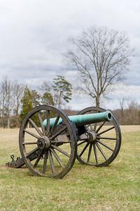 Scene at Chinn Ridge, Manassas National Battlefield.