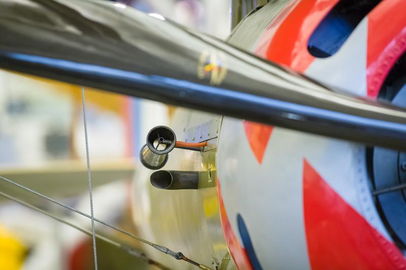 Detail of Nieuport 28C.1