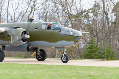 """Scene during """"The Great British Fly-In"""" event at the Steven F. Udvar-Hazy Center."""