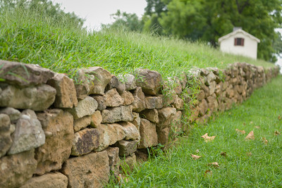 Original stone wall @ Sunken Road