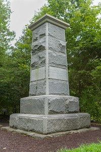 Stonewall Jackson Memorial at Chancellorsville