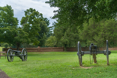 Cannon at Fredericksburg National Cemetery