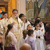 Liturgy, Cathedral Announcement, and Tonsuring of Altar Servers