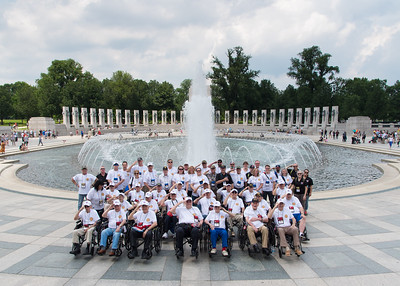 11. Group Photo and WWII Memorial