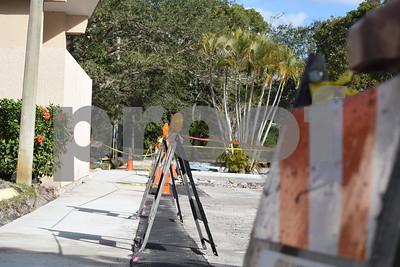 2018-01-31 Parking Lot Under Construction