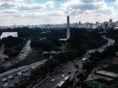 Obelisco e Monumento Mausoléu ao Soldado Constitucionalista de 32