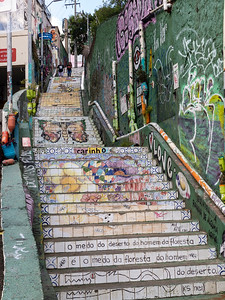 Stairs of Jardim das Bandeiras