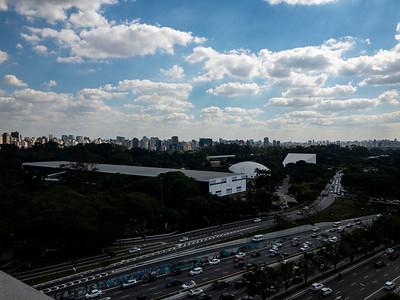 Vista de Parque Ibirapuera