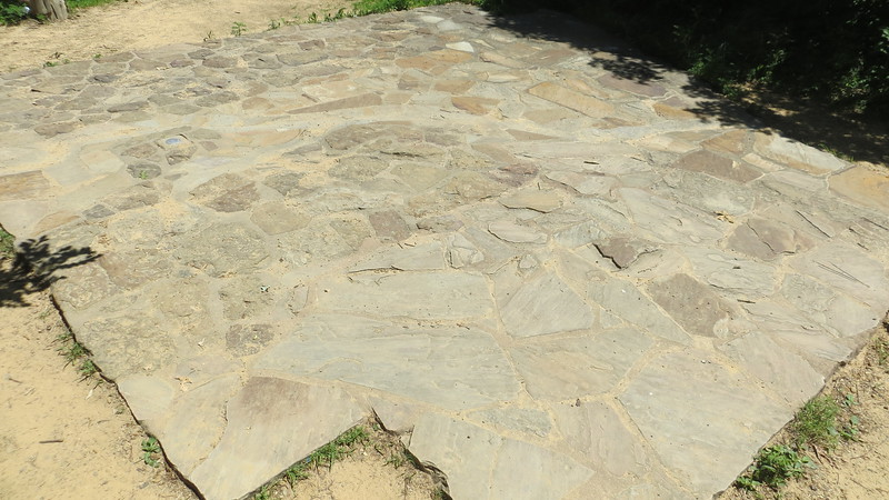 STONE MAP OF ARKANSAS