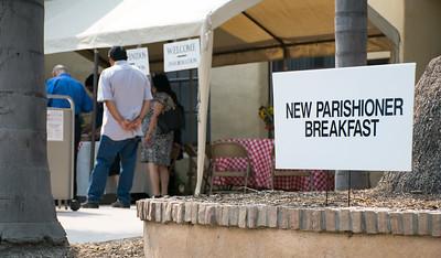 15-07-2018  Spanish New Parishioners Breakfast