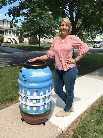 2018-07-30 - Richmond Gardens Painted Rainbarrel Raffle