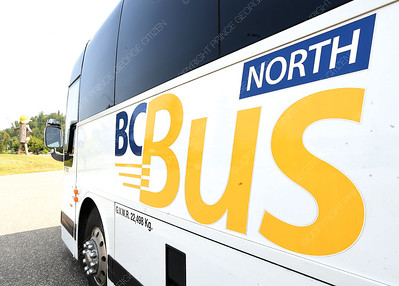 Newly launched BC Bus North service.  July 25 2018