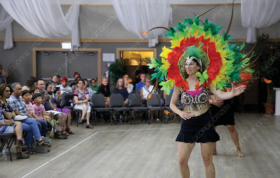 A Salsa Casino is performed on Saturday at Columbus Community Centre as part of the Day of Cutures event. Citizen Photo by James Doyle      July 28, 2018