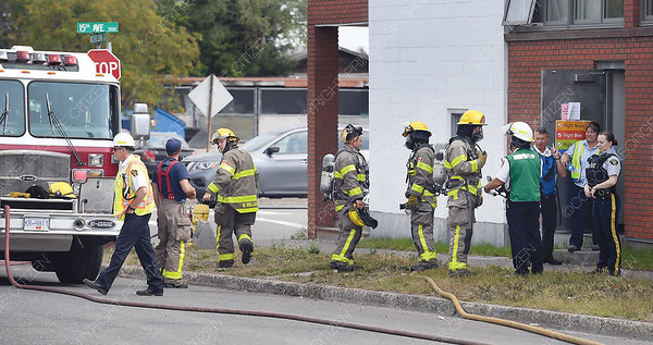 Prince George Fire Rescue Service were called out to Canada Post on 15th Avenue after the discovery of a white powder Tuesday morning.    July 31 2018