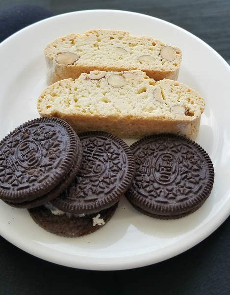 AND BISCOTTI AND OREOS (ZACHARY'S FAVORITE)