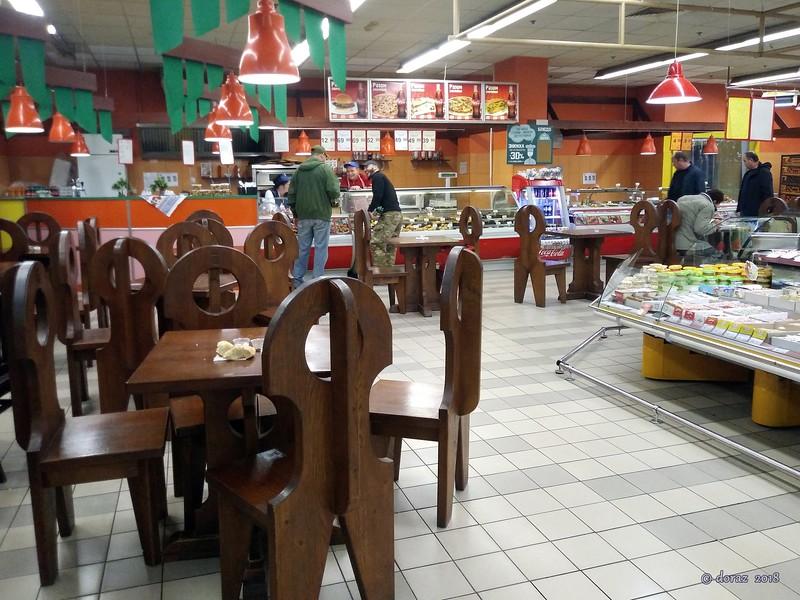 003 Kyiv, restaurant inside the supermarket.jpg