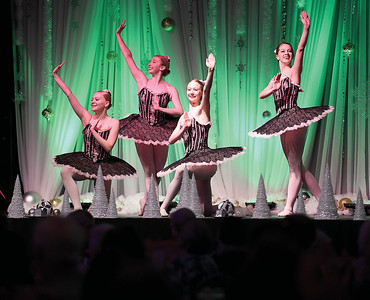 Dancers from Enchainement Dance Centre perform a ballet from Nutcracker for the seniors tea at this years Festival of Trees in the Civic Centre Monday. Citizen photo by Brent Braaten