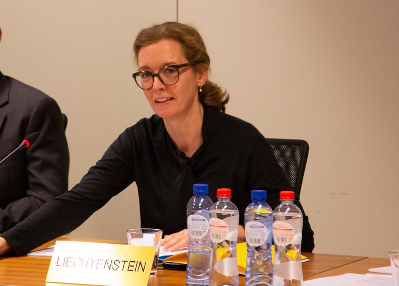 Liechtenstein's ambassador to the EU, Sabine Monauni