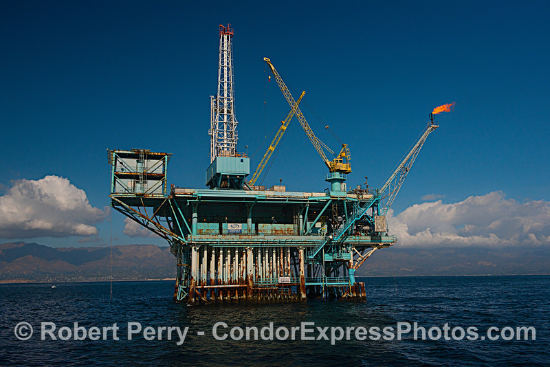 The infamous offshore oil platform A