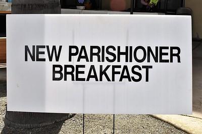 03-18-2018 New Parishioners Breakfast English Tour