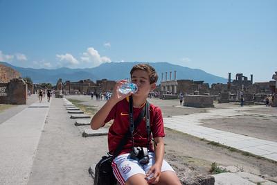 Pompeii is burning hot