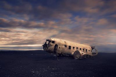 DA065,DT,Sólheimasandur Plane Crash,Iceland