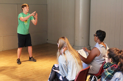 2018 JIMMY AWARDS Coaching Sessions at NYU Tisch School of The Arts in New York City on June 20, 2018.  Photo by Henry McGee/NHSMTA