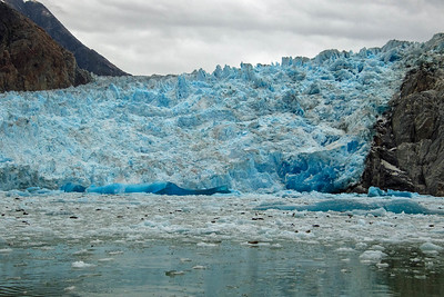 DA054,DT,Sawyer Glacier & seals at Tracy Arm Fjord, Alaska