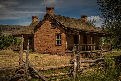 DA061,DT,Ranch House, Grafton, Utah