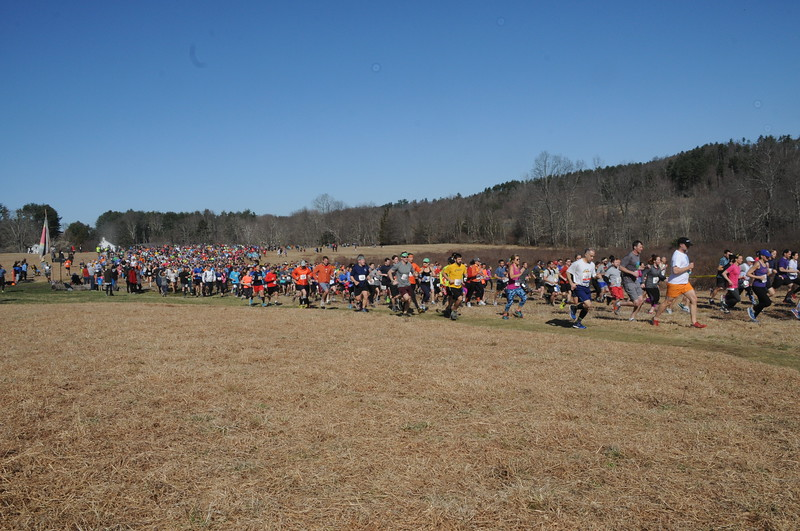 Start of the 2018 Leatherman's Loop (photo by John Cummings)
