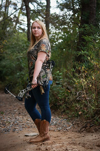 Ally War analyzed gendered language sports magazines to learn how women are portrayed and included in the hunting world and how they use language differently from men when writing about hunting. Ward is a senior English major from Norwood, NC. Her mentor is Dr. June hobbs