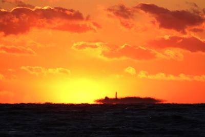 Faulkner Island Sunset