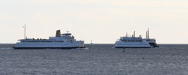 Cape Henlopen and Susan Anne, Cross Sound Ferry
