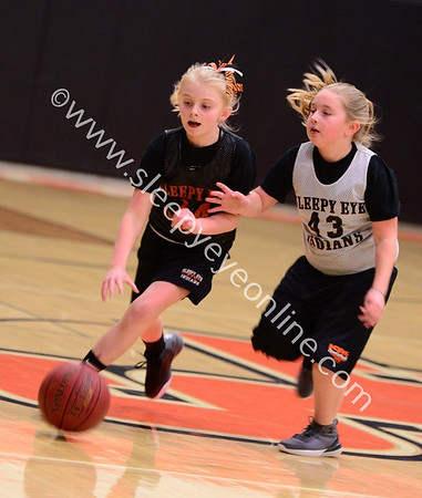 20180119 Sleepy Eye Elementary Girls Basketball