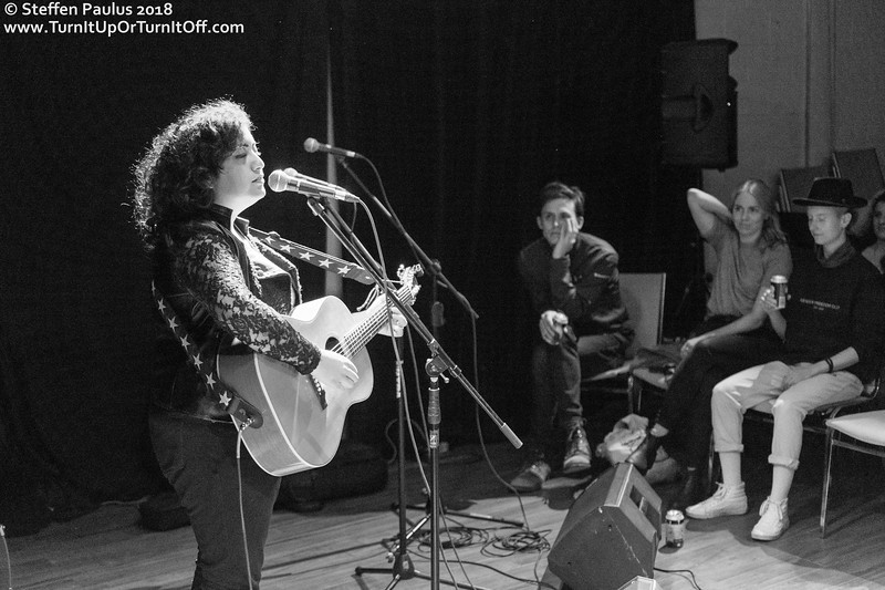 Winona Wilde @ IWD Concert, Arraymusic, Toronto, ON, 8-March 2018