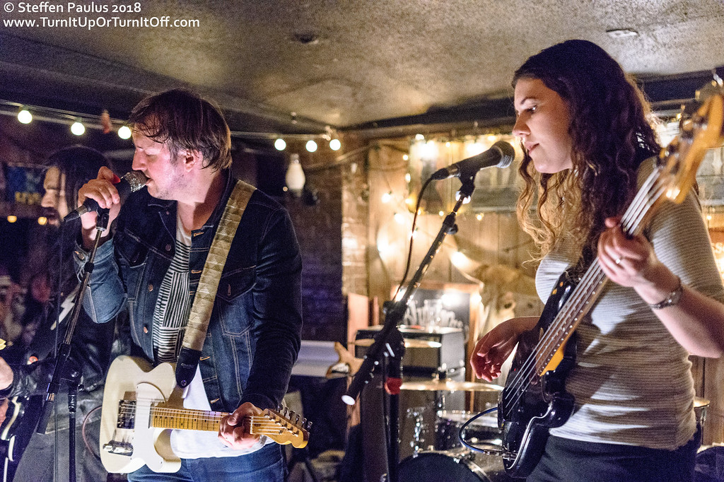 Mikey Manville And His Sidearms @ Dakota Tavern, Toronto, ON, 28-April 2018