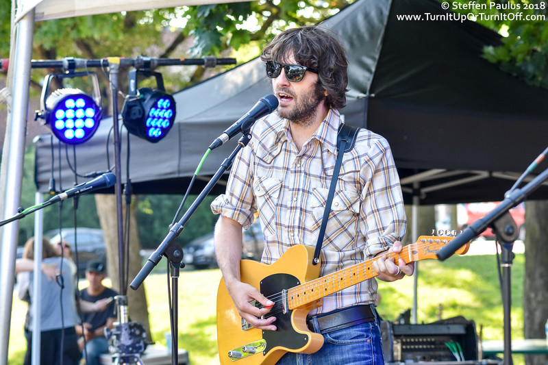 Jerry Leger And The Situation @ The Danny Loves Music Series, East Lynn Park, Toronto, ON, 4-July 2018